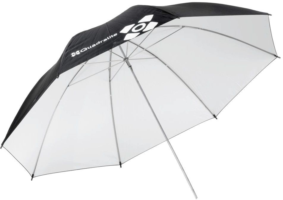 Parasolka biała refleksyjna 120cm Quadralite