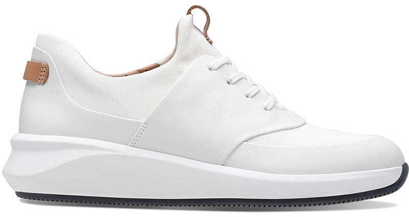 Buty sportowe damskie Clarks Un Rio Lace białe261403984