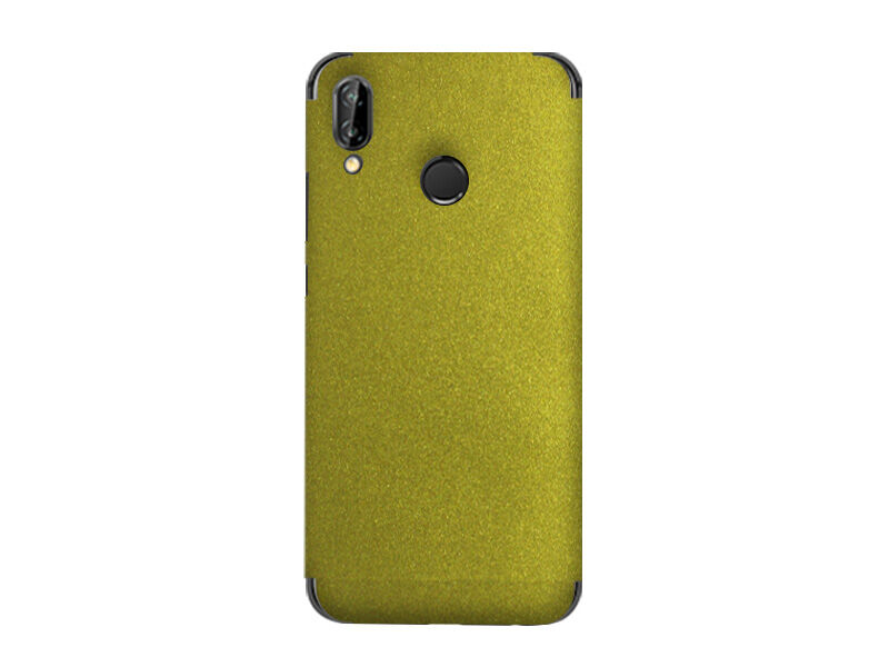 Huawei P20 Lite - folia na tył 3MK Ferya SkinCase - Gold Cameleon
