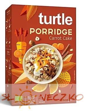 Owsianka o smaku ciasta marchewkowego BIO 400 g Turtle