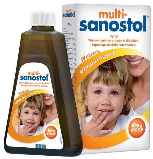 Multi-SANOSTOL płyn, 600 g