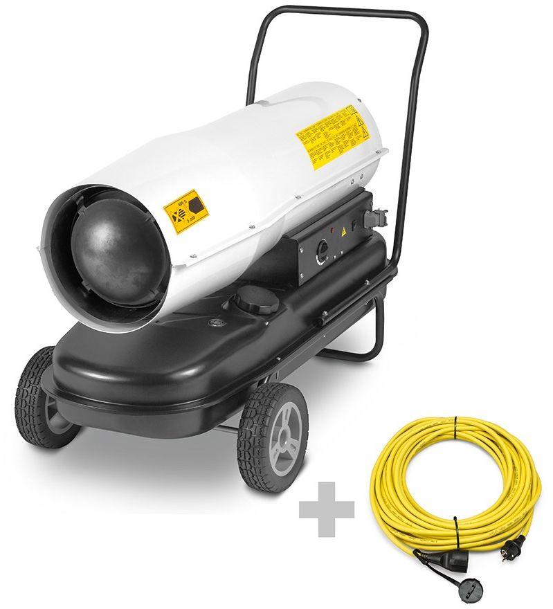 Nagrzewnica olejowa IDE 60 D + Przedłużacz Profi 20 m / 230 V / 2,5 mm