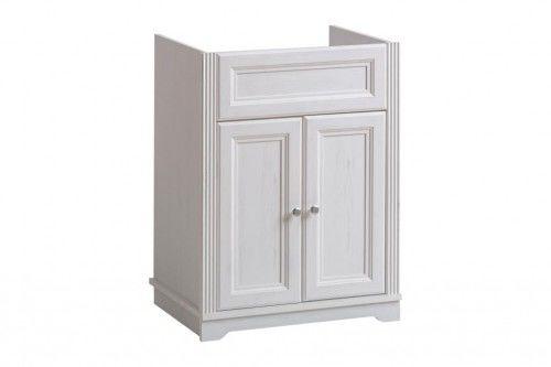 Szafka łazienkowa pod umywalkę 60 cm PALACE WHITE