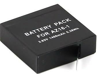 AZE Bateria do kamer sportowych Xiaomi YI 2 - 4K - zamiennik