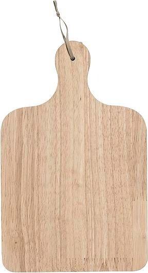 Deska do krojenia bloomingville kwadratowa z drewna kauczukowego