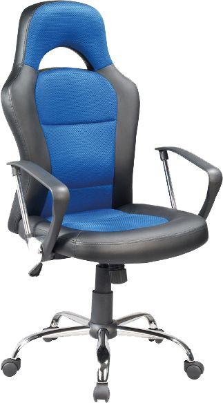Fotel obrotowy Q-033 niebieski biurowy