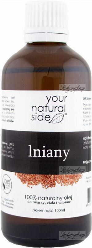 Your Natural Side - 100% naturalny olej lniany - 100 ml