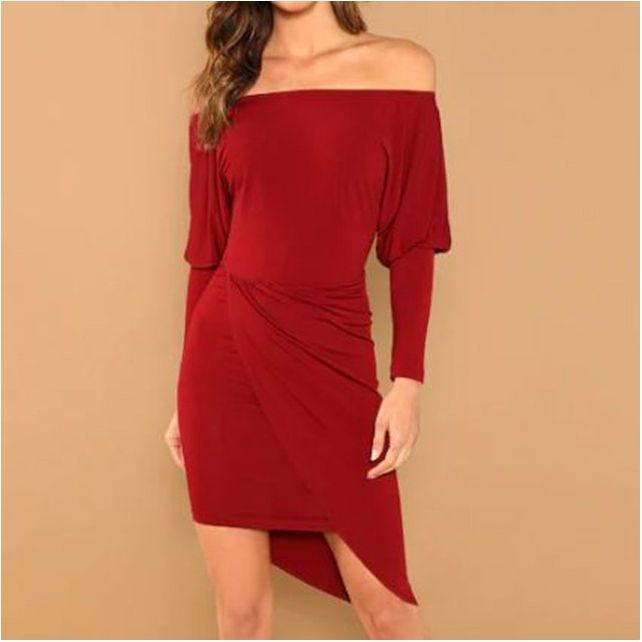 Sukienka asymetryczna Clara Beauty Senses BS00576
