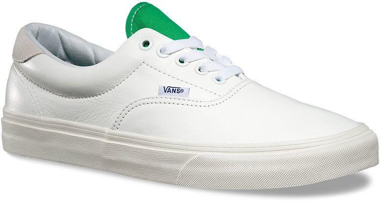obuwie męskie VANS ERA 59 (Vintage Sport) True White/Kelly Green