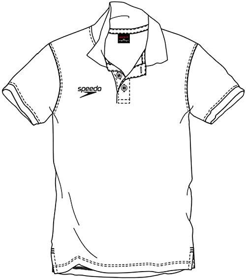 Speedo Koszulka polo, męska XL biała (biała)