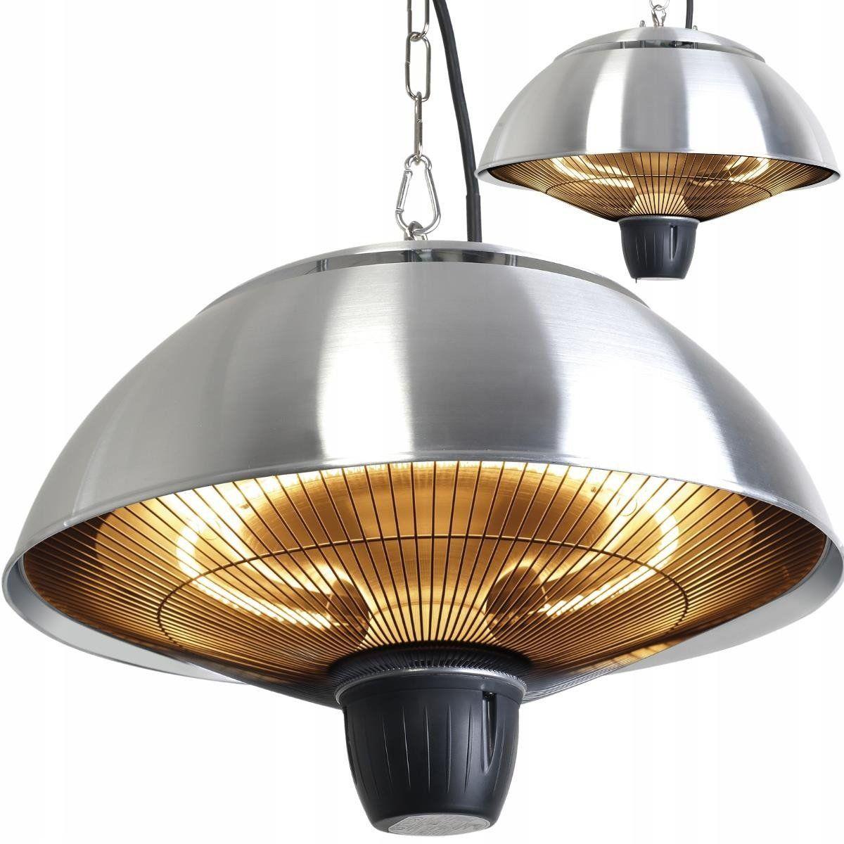 Promiennik Podczerwieni Wiszący Premium SunRay HPH1501S - Srebrny