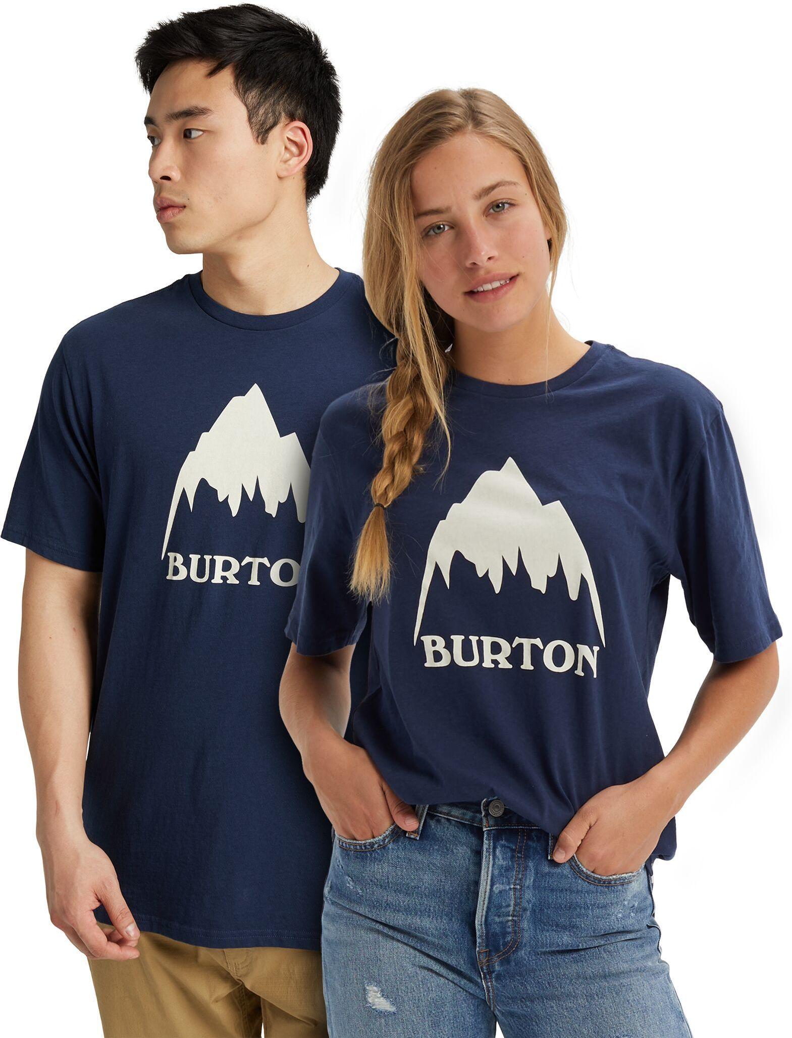koszulka BURTON UA CLASSIC MOUNTAIN HIGH SS Dress Blue