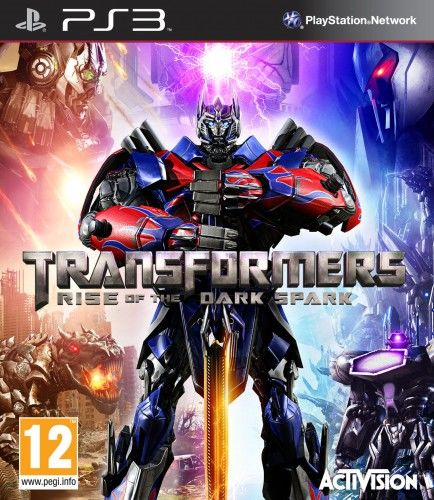 Transformers Rise of the Dark Spark PS 3