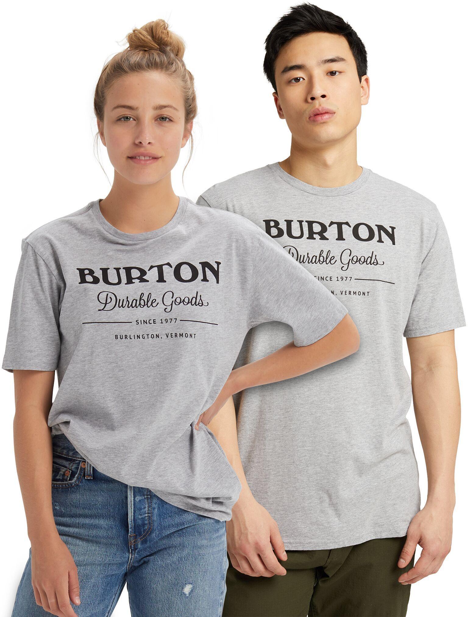 koszulka BURTON UA DURABLE GOODS SS Gray Heather