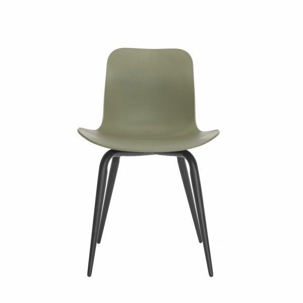 LANGUE Avantgarde Black/Green Krzesło