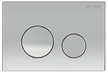 Przycisk do stelaża chrom 15x22cm ENCO MASSI
