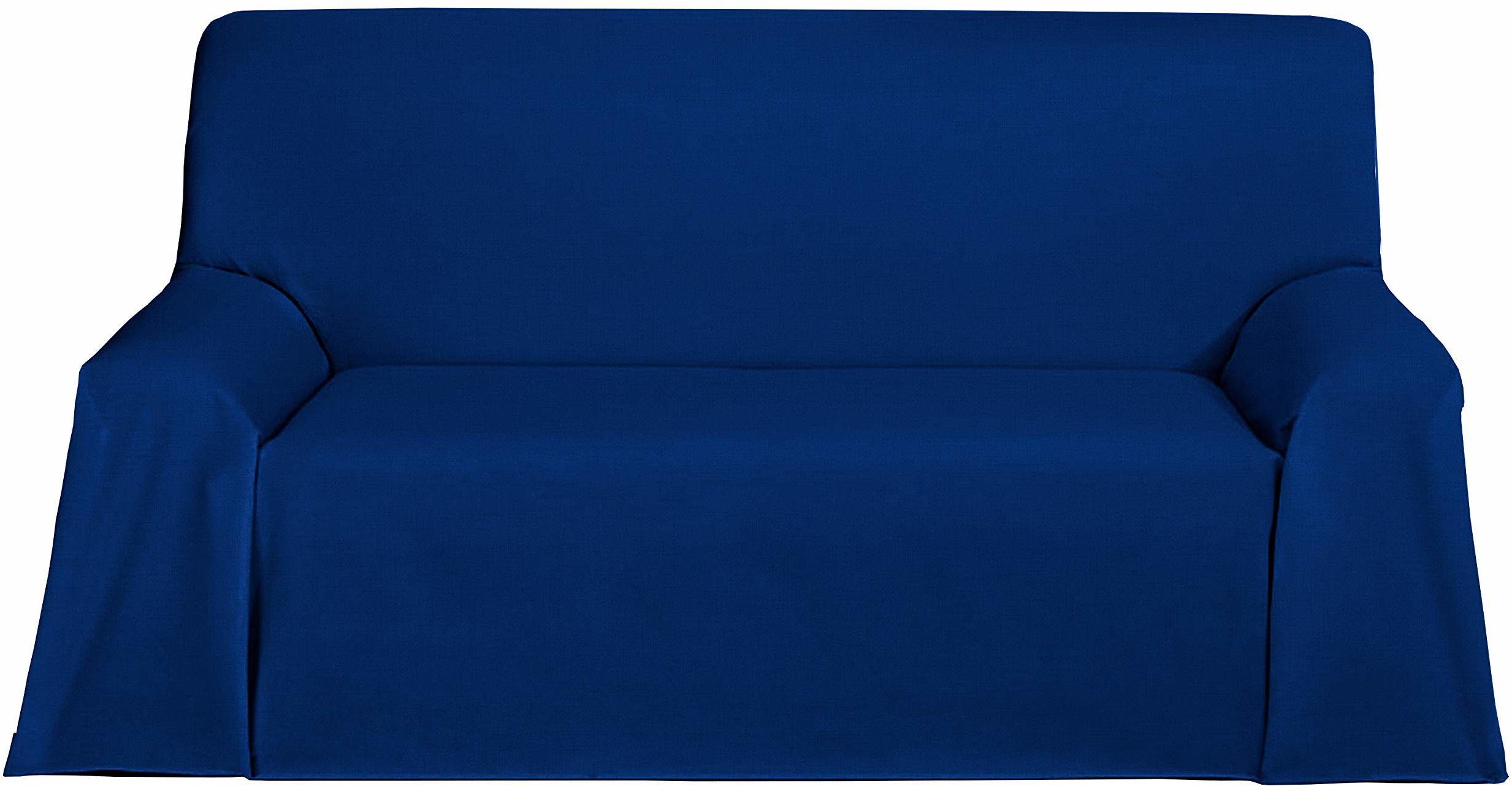 Martina Home Levante Foulard wielofunkcyjny / pled, materiał 180x130x1 cm granatowy