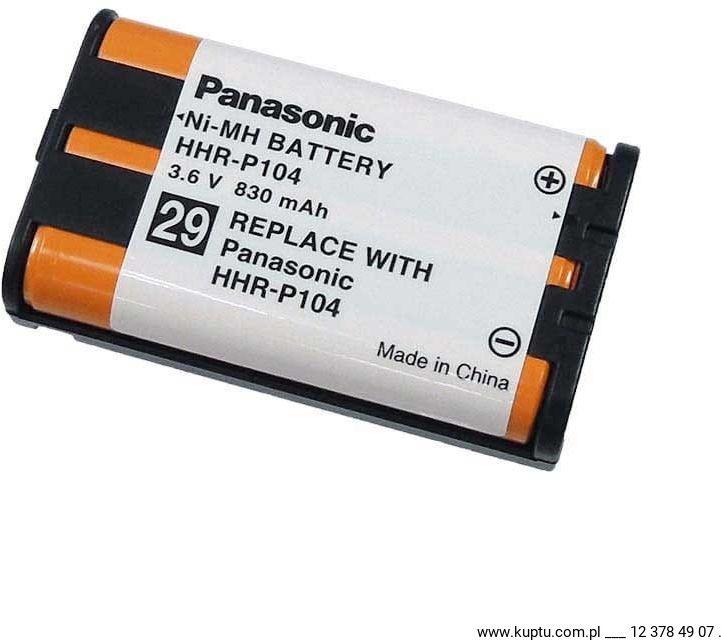 HHR-P104, bateria Panasonic ORYGINAŁ