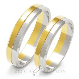Obrączki ślubne Złoty Skorpion  wzór A-212