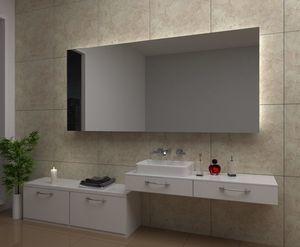 Lustro podświetlane LED DUBAI 80x60cm.