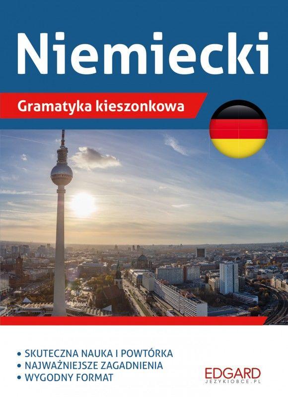 Niemiecki Gramatyka kieszonkowa ZAKŁADKA DO KSIĄŻEK GRATIS DO KAŻDEGO ZAMÓWIENIA