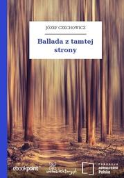 Ballada z tamtej strony - Audiobook.