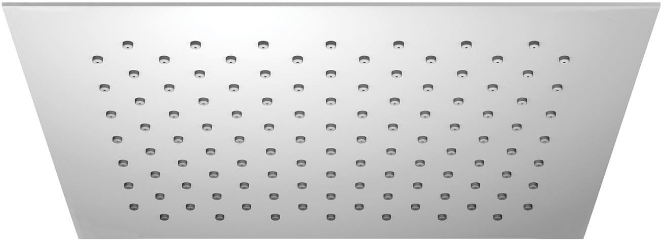 OMNIRES Deszczownica ze stali nierdzewnej ULTRA SLIMLINE WGU225 25x25 cm chrom WGU225/KCR