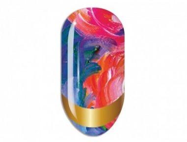 Nail Art Stikers Mollon Pro J103 naklejki do zdobienia