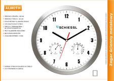 Zegar reklamowy aluminiowy TH /300mm