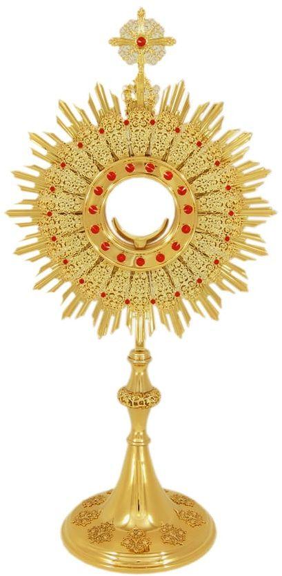 Monstrancja do adoracji Najświętszego Sakramentu