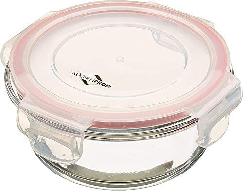 Küchenprofi Lunchbox-1001703514 pojemnik na lunch, szklany, przezroczysty, jeden rozmiar