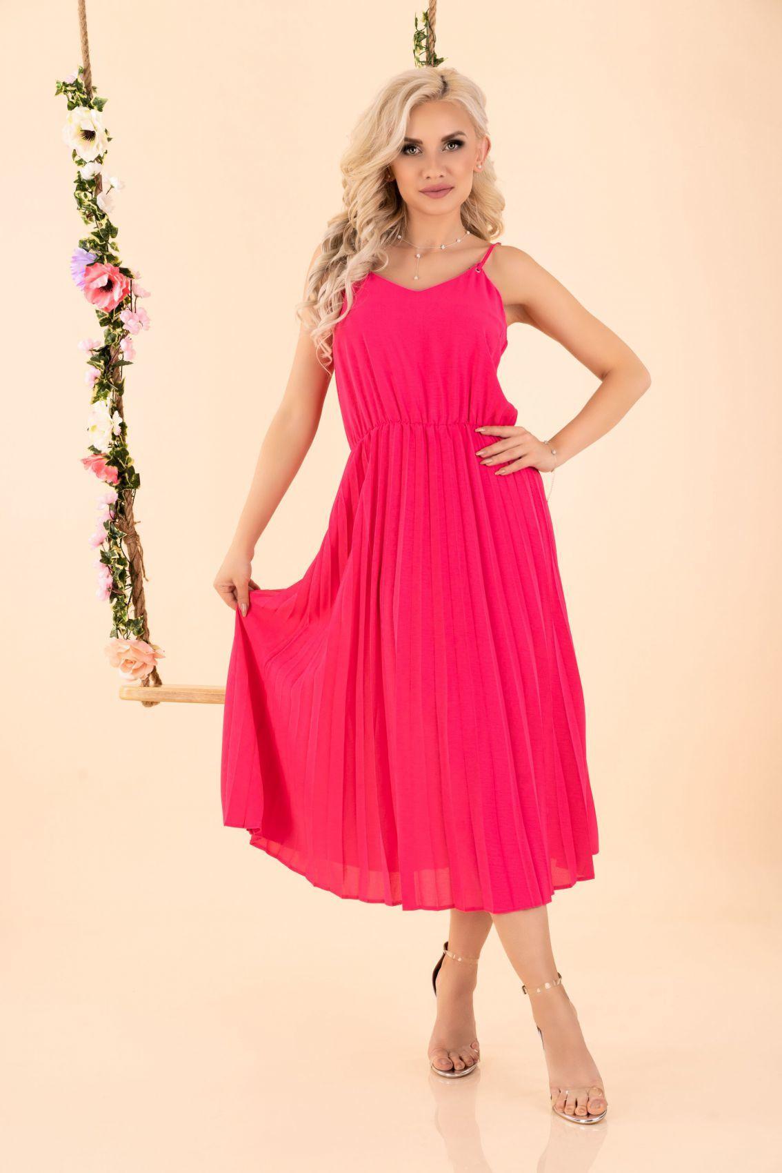 Errigam Fuchsia D56 sukienka