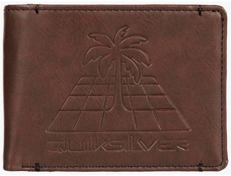 portfel QUIKSILVER - B11Embossedwall Chocolate Brown (CSD0
