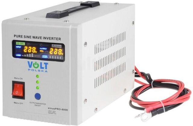 Przetwornica napięcia VOLT SINUSPRO-800 dc/ac 500W 12VDC/230VAC