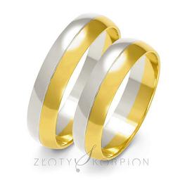 Obrączki ślubne Złoty Skorpion  wzór A-202