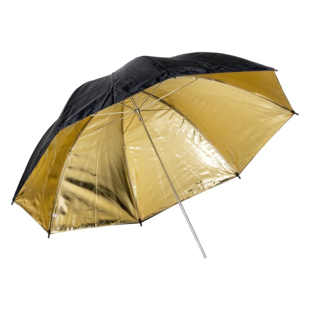 Parasolka złota Quadralite 120cm