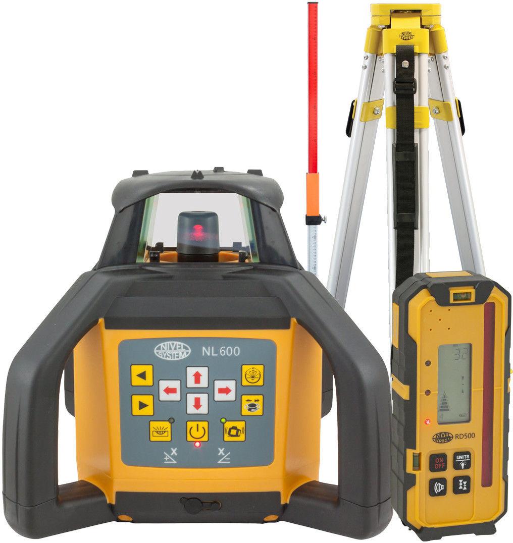 Niwelator Laserowy Nivel System Nl600 Digital (+ statyw + łata)