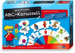Noris 606076151 - ABC karuzela, puzzle, zabawka dla dzieci