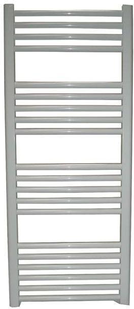 Grzejnik łazienkowy york - wykończenie proste, 500x1500, biały/ral