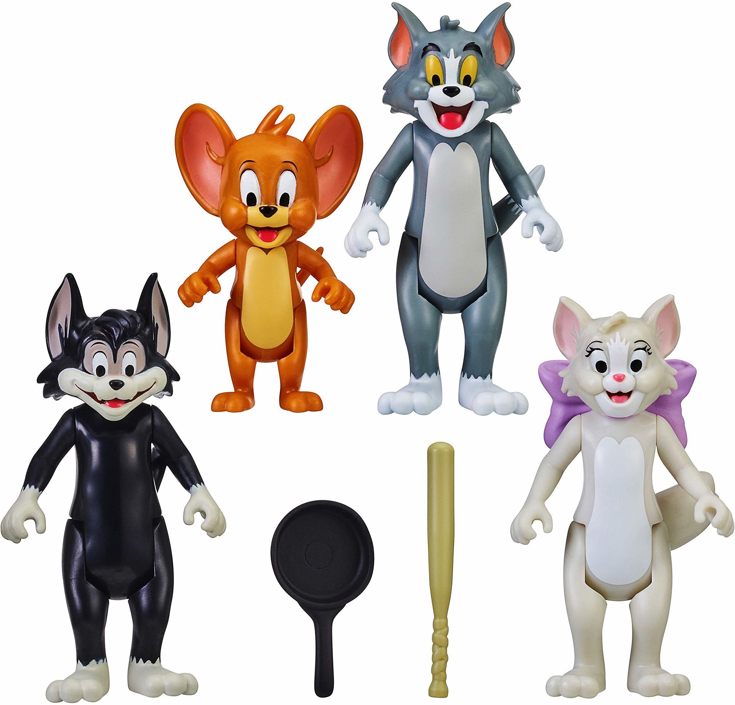 Tom & Jerry 14458 Figurka 4-pak, przyjaciele i wrogi