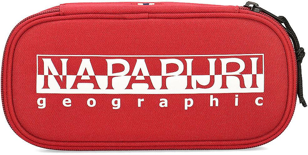 Napapijri Happy Pen Organizer - Piórnik Unisex - N0YID4 R01 HAPPY PEN - Czerwony