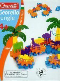Zestaw konstrukcyjny Georello Jungle 50 el - Quercetti