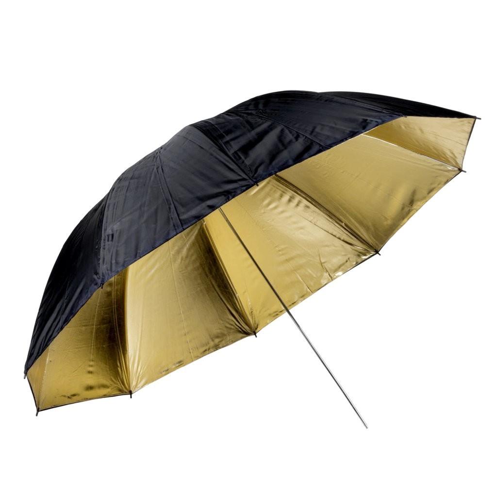 Parasolka złota Quadralite 150cm