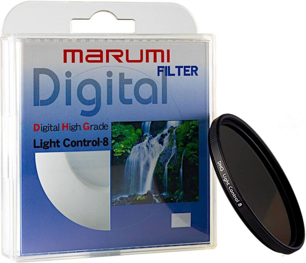 Filtr szary ND8 Marumi DHG Light Control-8 55mm