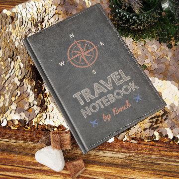 Travel Notebook - notatnik A5 z nadrukiem