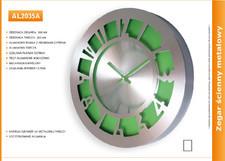 Zegar reklamowy aluminiowy arabic /300mm