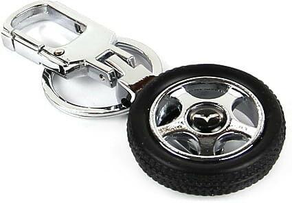Brelok opona / koło samochodowe - Mazda