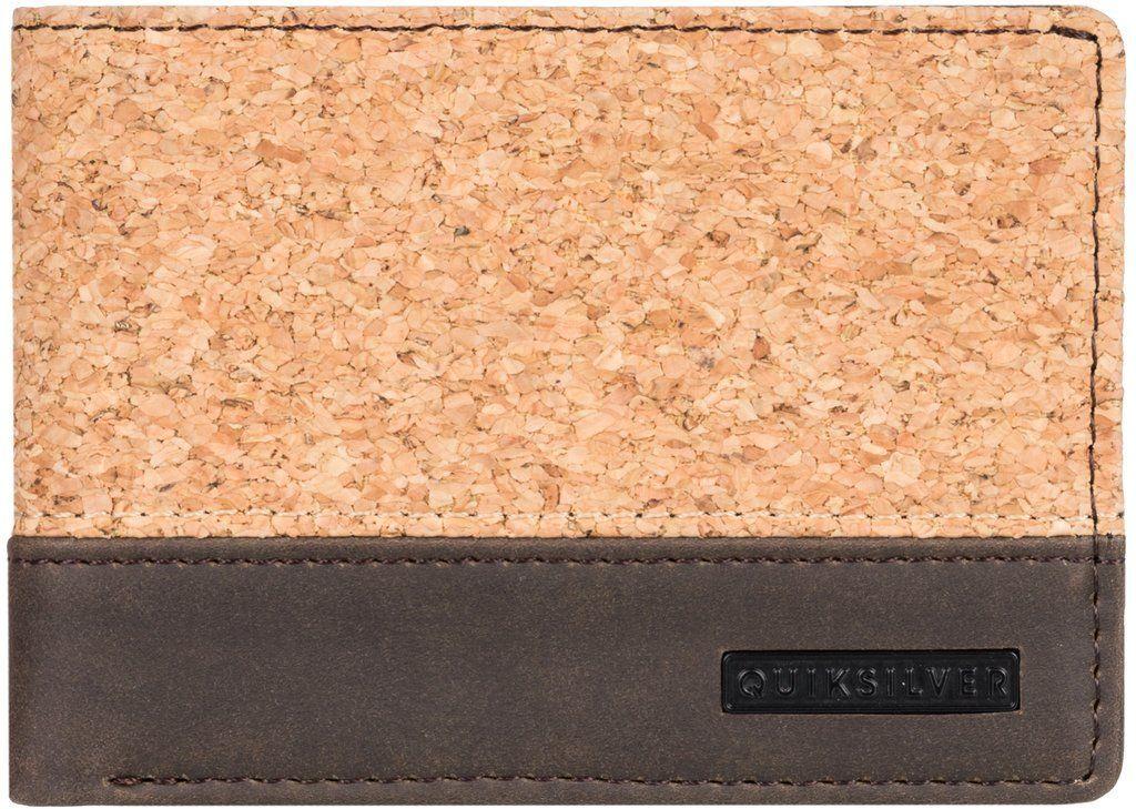 portfel męski QUIKSILVER NATIBERRY Chocolate Brown - CSD0