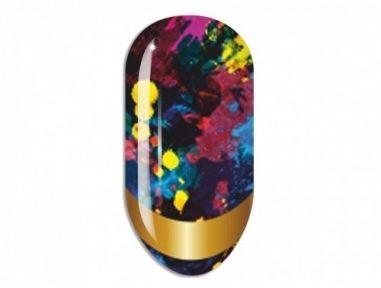 Nail Art Stikers Mollon Pro J104 naklejki do zdobienia