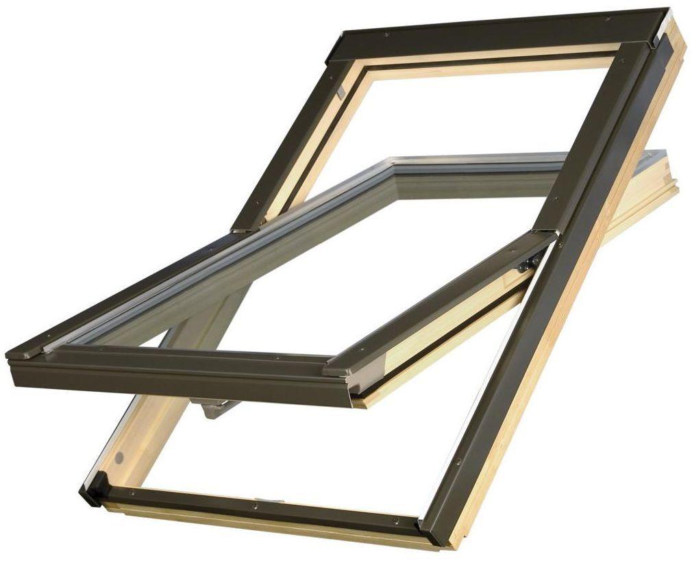 Okno dachowe 2-szybowe 78 x 118 cm ERW